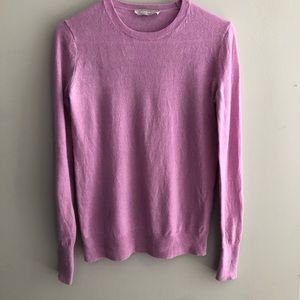 Everlane Lavender Pink Crewneck Cashmere Sweater